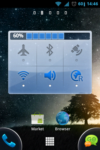 Sony Xperia Arc launcher for Galaxy Ace | Nishant's Blog